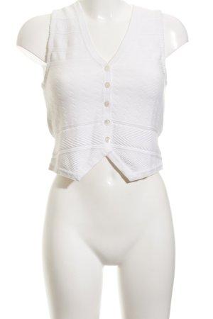 Ralph Lauren Smanicato lavorato a maglia bianco sporco stile casual