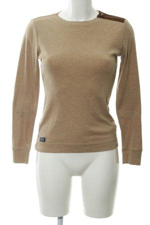 Ralph Lauren Sweatshirt camel-braun Casual-Look