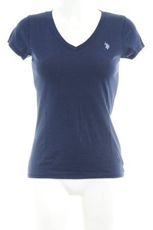 Ralph Lauren T-Shirt dark blue casual look
