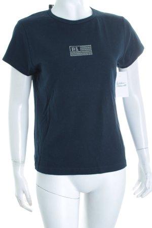Ralph Lauren T-Shirt dunkelblau schlichter Stil