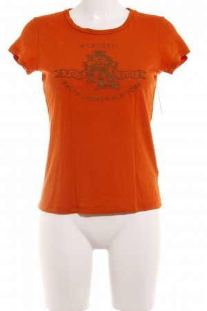 Ralph Lauren T-Shirt dunkelorange Casual-Look
