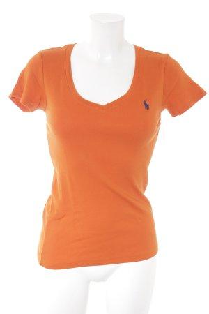Ralph Lauren T-Shirt dunkelorange sportlicher Stil