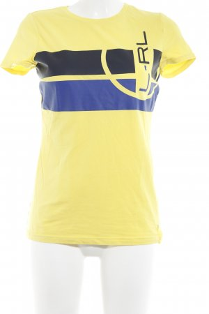 Ralph Lauren T-Shirt gelb Casual-Look