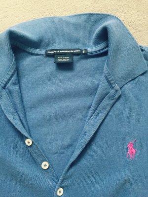 Ralph Lauren T-Shirt Kleid in blau, Größe S
