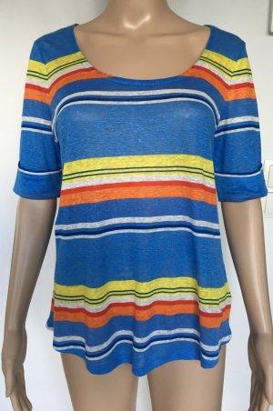 Ralph Lauren, T-Shirt, Leinen, S, bunt, gestreift, neu