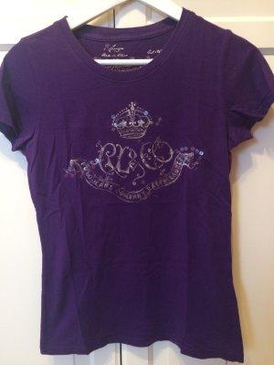 Ralph Lauren T-Shirt, lila, Größe S