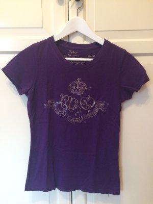 Ralph Lauren T-Shirt, lila, Größe S ⚠️nur noch diese Woche online⚠️