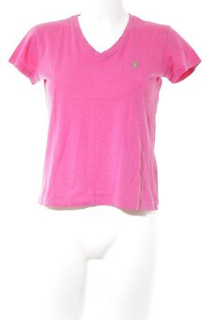 Ralph Lauren T-Shirt magenta sportlicher Stil