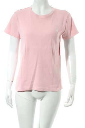 Ralph Lauren T-Shirt rosa Street-Fashion-Look
