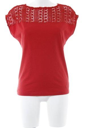 Ralph Lauren T-Shirt rot Webmuster Casual-Look