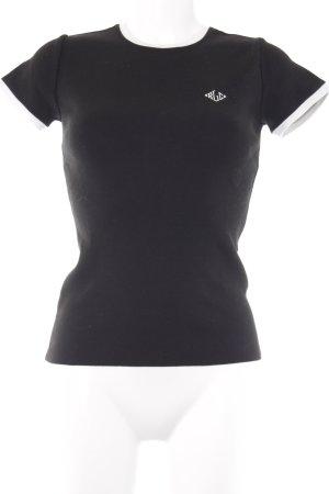 Ralph Lauren T-Shirt schwarz-weiß schlichter Stil