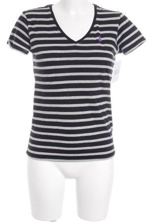 Ralph Lauren T-Shirt Streifenmuster Casual-Look