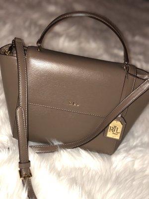 Polo Ralph Lauren Mini sac marron clair