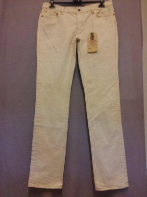 Ralph Lauren Jeans elasticizzati bianco sporco-beige chiaro Cotone