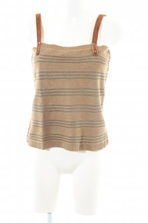 Ralph Lauren Strappy Top natural white-light grey striped pattern casual look