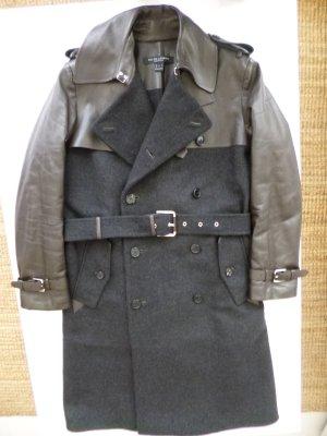 Ralph Lauren, Trenchcoat,  Wolle/Leder,  Gr. 38, neuwertig, € 4.500, -
