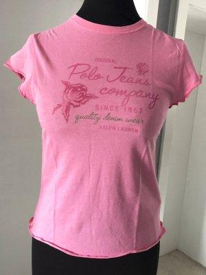 Ralph Lauren Tshirt rosa pink Gr. S/M