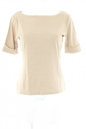 Ralph Lauren U-Boot-Shirt camel Casual-Look