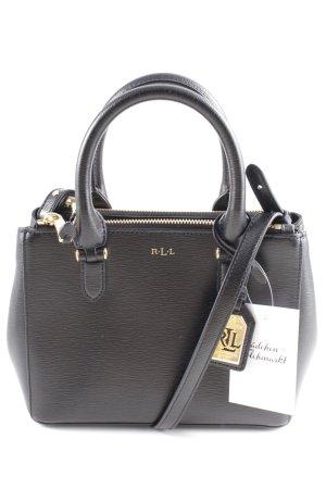 Ralph Lauren Umhängetasche schwarz-goldfarben Elegant