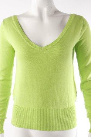 Ralph Lauren V-Neck Sweater meadow green-neon green