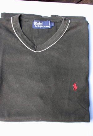 """""""Ralph Lauren"""" V-shirt, unisex,  L, kurzarm shirt"""