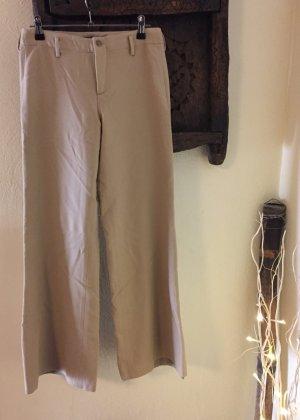Ralph Lauren - Weite beige Hose im Marlenestil
