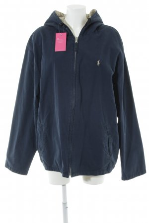Ralph Lauren Reversible Jacket cream-dark blue casual look