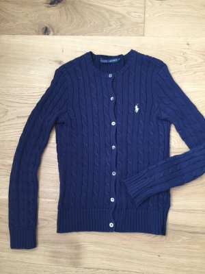 Ralph Lauren Knitted Vest dark blue
