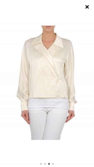 Ralph Lauren Wraparound Blouse natural white