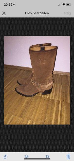 Ralph Lauren Wildleder Boots