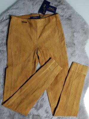 Polo Ralph Lauren Pantalón de cuero multicolor Cuero