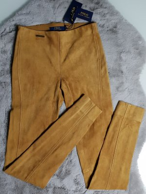 Polo Ralph Lauren Leather Trousers multicolored