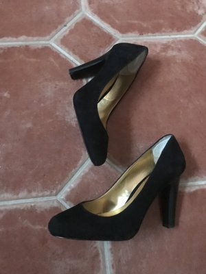 Ralph Lauren, Wildleder Pumps, Gr 38, KP 139€