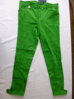 Ralph Lauren, Wildlederhose Jodhpur, grün, Gr. 42, neu,  € 1.290, -