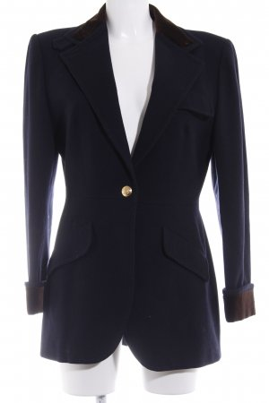 Ralph Lauren Wool Blazer dark blue casual look