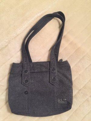 Ralph Lauren Woll-Tasche Filz Handtasche grau