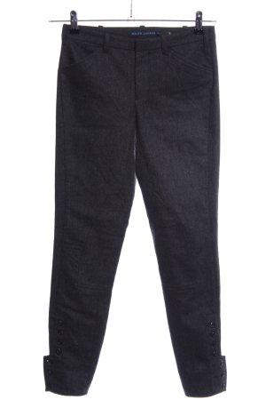 Ralph Lauren Woolen Trousers black flecked business style