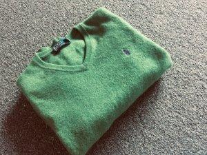 Ralph Lauren Maglione di lana verde bosco-lilla