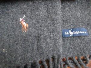 Ralph Lauren Wollschal grau