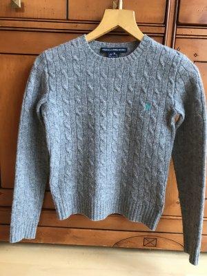 Ralph Lauren Wool Pullover Grau