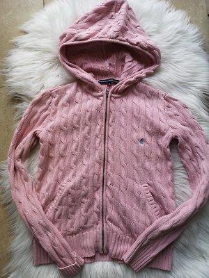 Ralph Lauren Maglione con cappuccio rosa chiaro