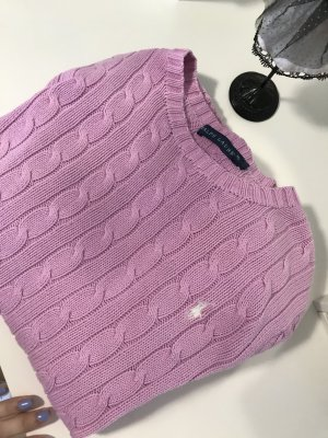 Polo Ralph Lauren Pull à gosses mailles multicolore
