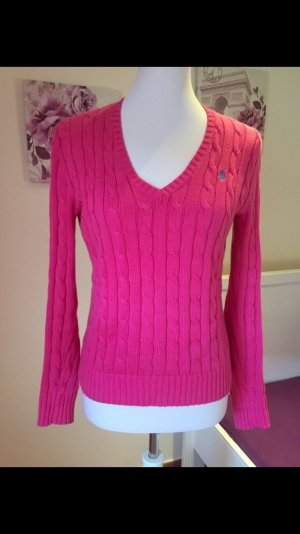Ralph Lauren Jersey trenzado rosa Algodón