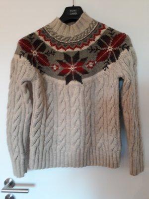 Lauren by Ralph Lauren Norwegian Sweater multicolored new wool