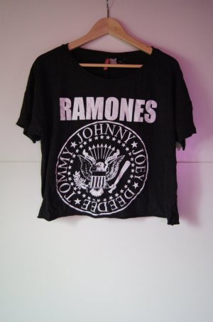 Ramones Cropped T-Shirt, Kurzshirt, Cropped Top von H&M