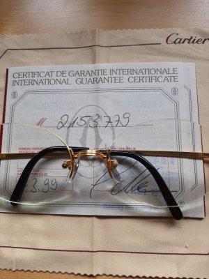 Cartier Bril goud Oranje kunststof