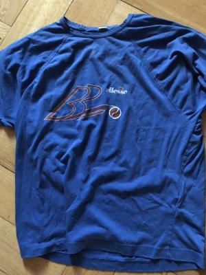 Ellesse Camisa deportiva azul Algodón