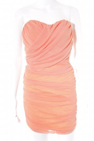 Rare london Bandeaukleid apricot Party-Look