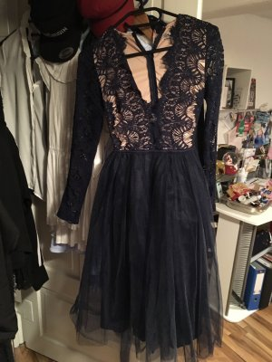 Rare London Kleid mit muschelspitze