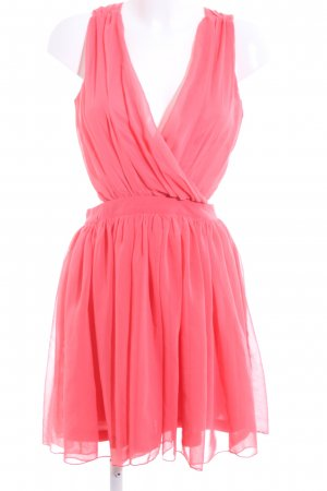 Rare london Kurzarmkleid pink Elegant